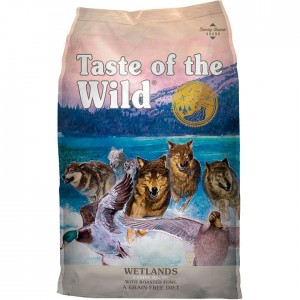 TASTE OF THE WILD WETLANDS PATO 12.2 Kg